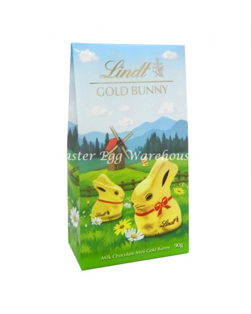 Lindt Mini Gold Bunny Pouch Bag 90g
