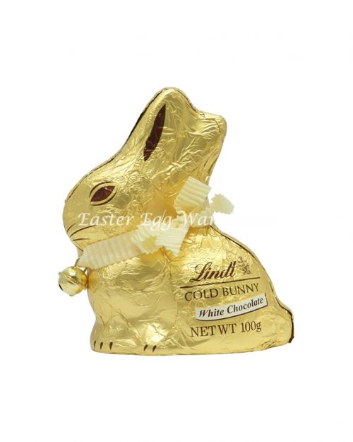 Lindt Gold Bunny White 100g - $4.99 on Line ($4.50 In Store Special)