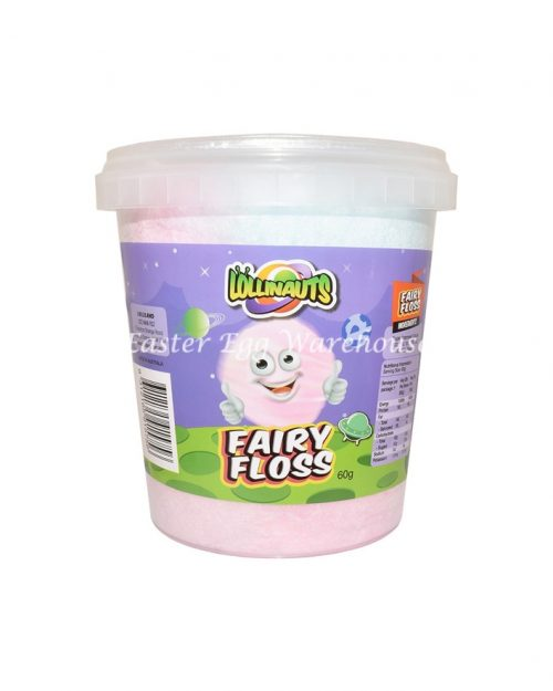 Fairy Floss Tub Multicoloured 60g