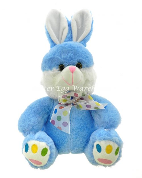 Mr Speckle Bunny - Blue 30cm