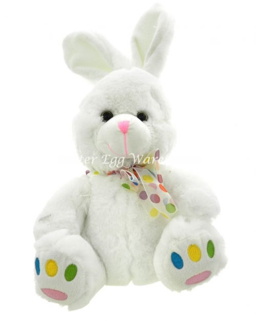 Mr Speckle Bunny - White 40cm