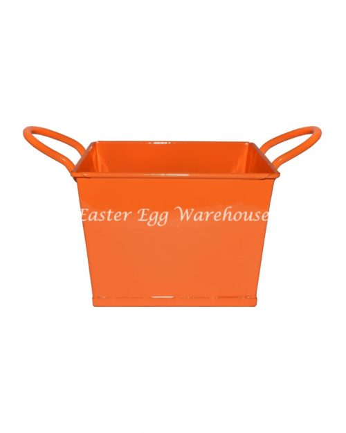 Orange Square Bucket