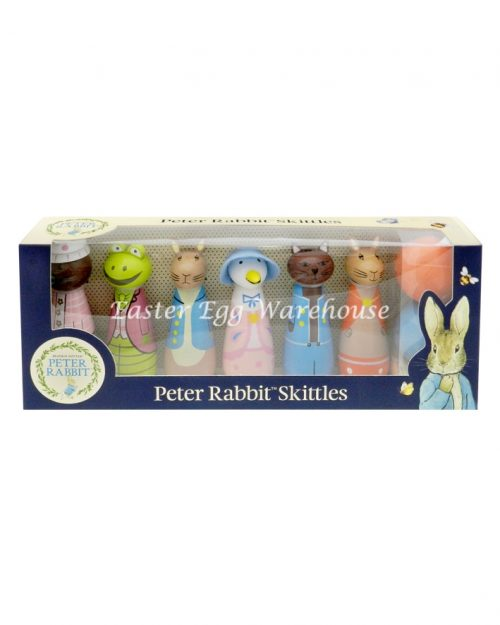 Peter Rabbit Wooden Skittles