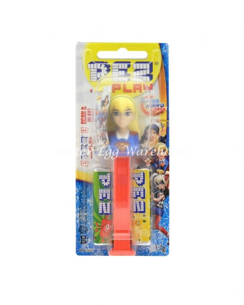 Pez Dispenser Super Hero Girls - Super Girl 17g