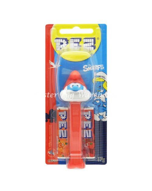 Pez Dispenser Papa Smurf 17g