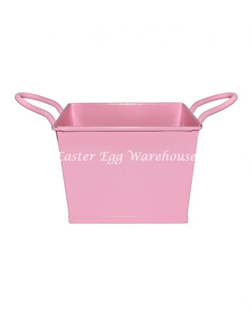 Pink Square Bucket