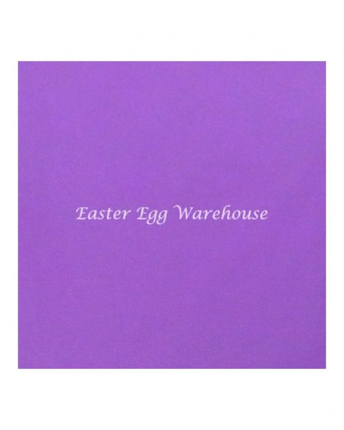 Purple Chocolate Wrappers 15cm x 15cm (25 per pack)