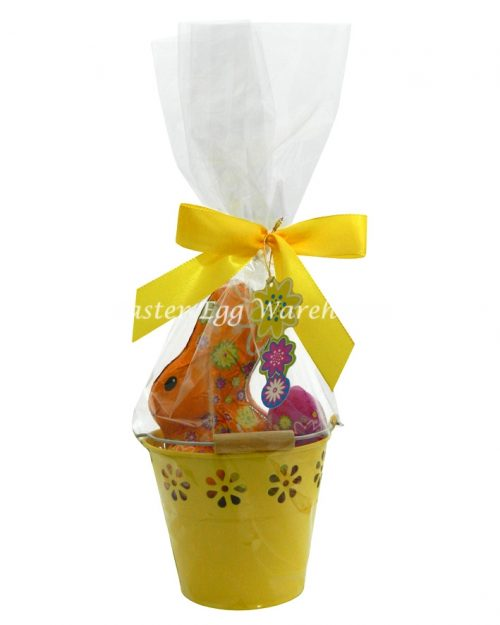 Riegelein Easter Bunny & Eggs 232g - Yellow Bucket
