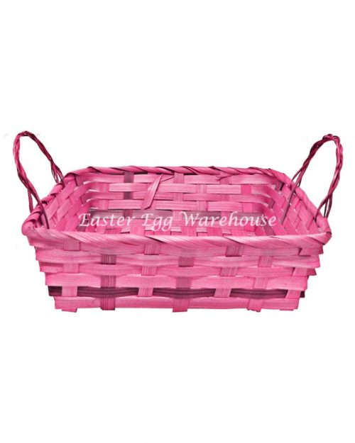Square Easter Basket Assorted Colours
