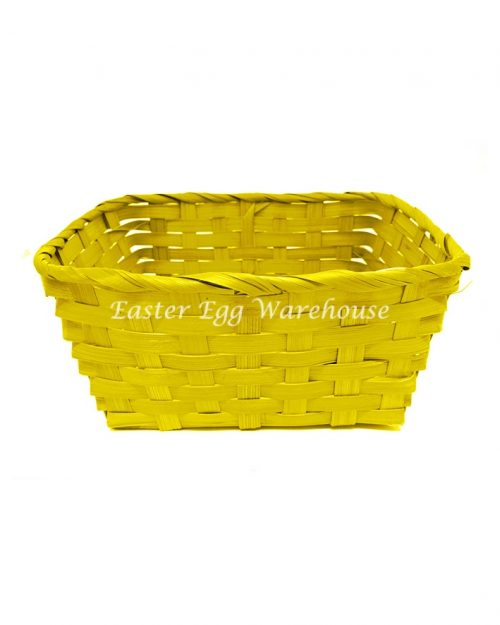 Woven Square Basket - Assorted Colours 20x20x10cm