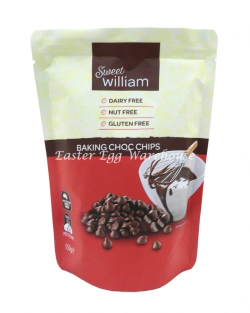 Sweet William Baking Chocolate Chips 150g