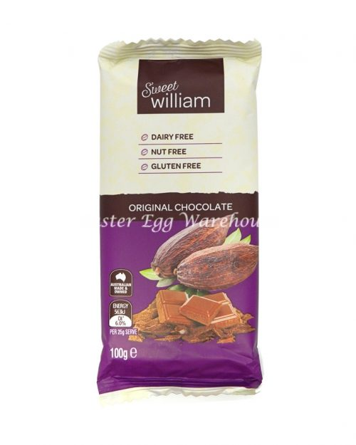 Sweet William Original Chocolate 100g