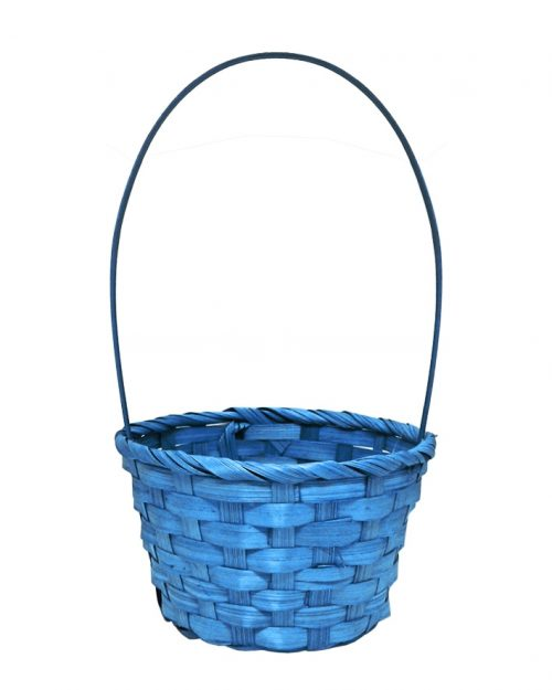 Easter Woven Basket with Handle - Ex Large - Assorted Colours
