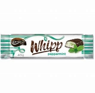 Darrell Lea Whipp Peppermint Bar 40g