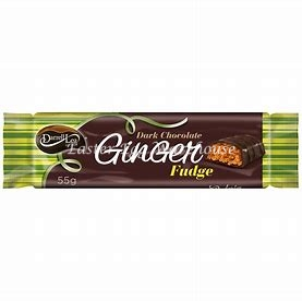 Darrell Lea Dark Chocolate Ginger Fudge Bar 55g
