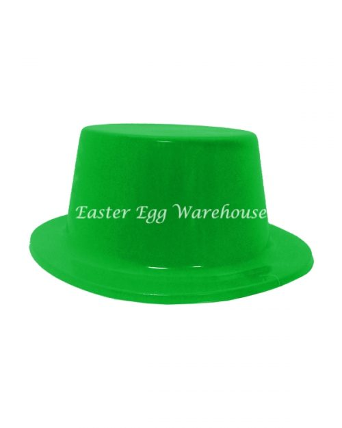 Easter Hat Plastic - Green