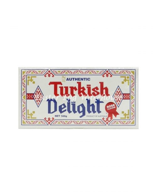 Turkish Delight Rose Flavour 500g