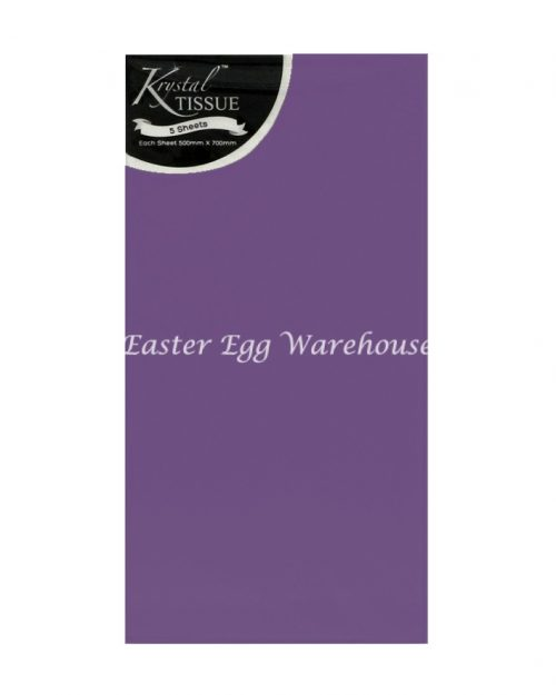 Purple Tissue Paper - 5 Sheets