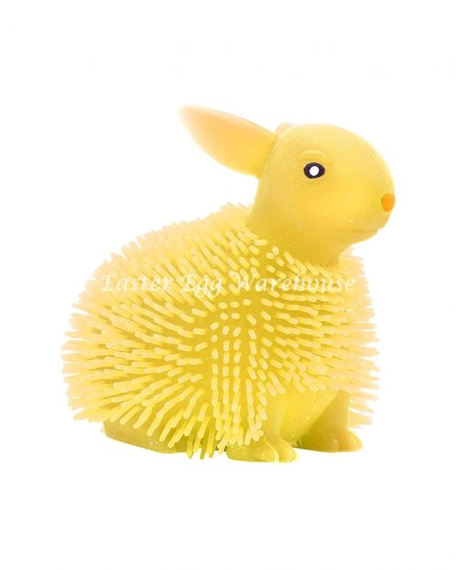 Yellow Squishy Bunny Toy