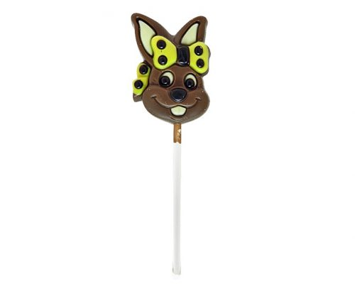 Bunny With Ribbon Lollipop Milk Chocolate 15g