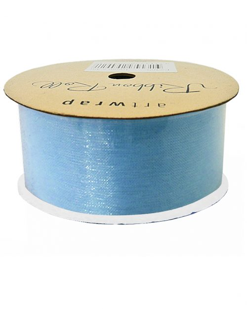 Light Blue Organza Ribbon 38mm x 4m