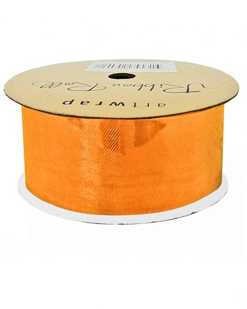 Orange Satin Ribbon 38mm x 4m