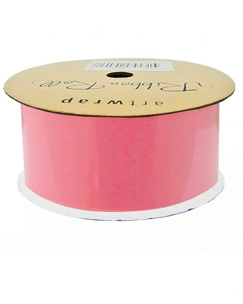 Dark Pink Satin Ribbon 38mm x 4m