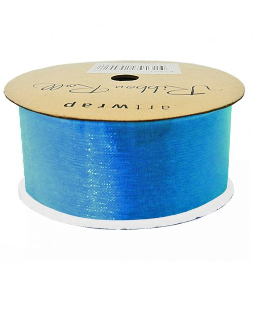 Sky Blue Organza Ribbon 38mm x 4m