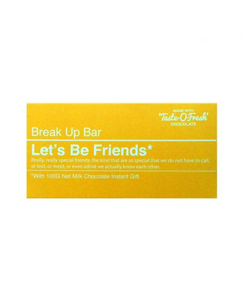 Bellaberry Let's Be Friends* – Milk Chocolate 100g