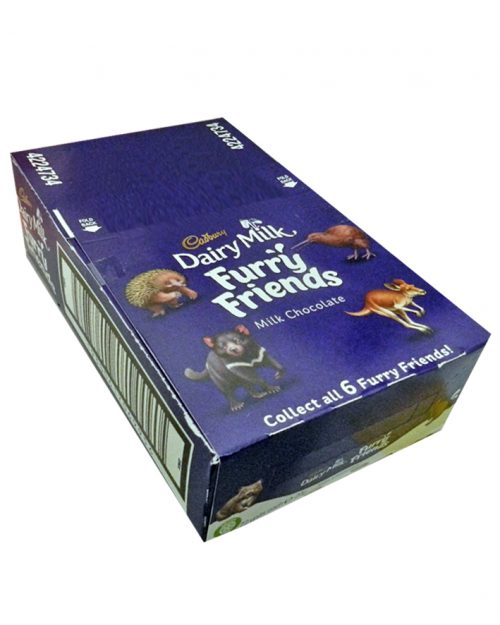 Cadbury Dairy Milk Furry Friends 20g - 72 per Box