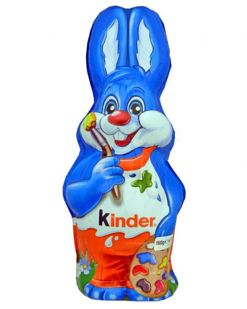 Kinder Blue Foil Easter Bunny 160g