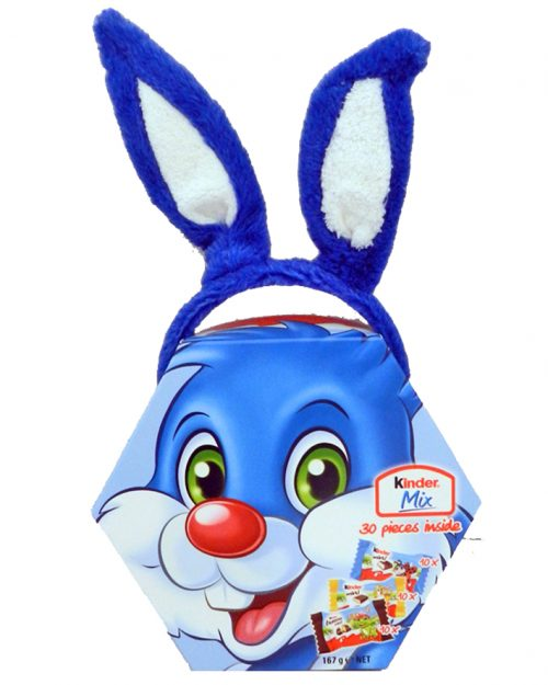 Kinder Maxi Mix with Blue Plush 167g
