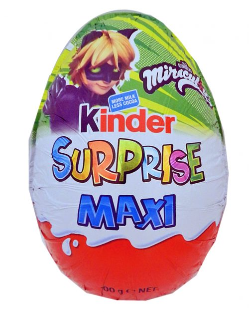 Kinder Surprise Maxi Egg Green Miraculous 100g