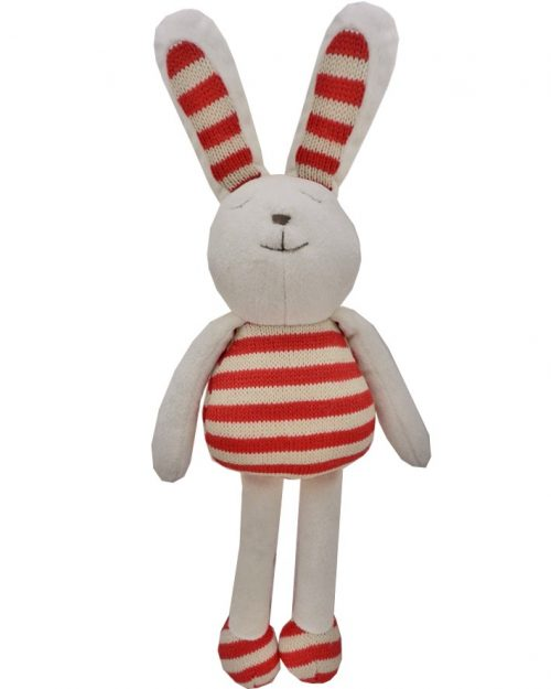 Knit Bunny Red 40cm