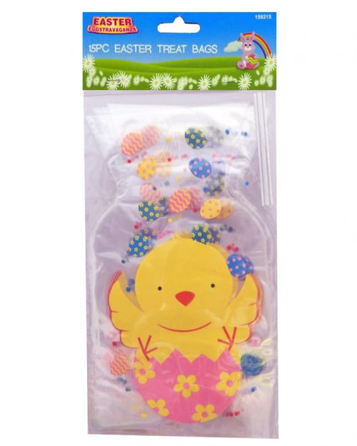 Easter Treat Bags - Easter Chick- 15pc