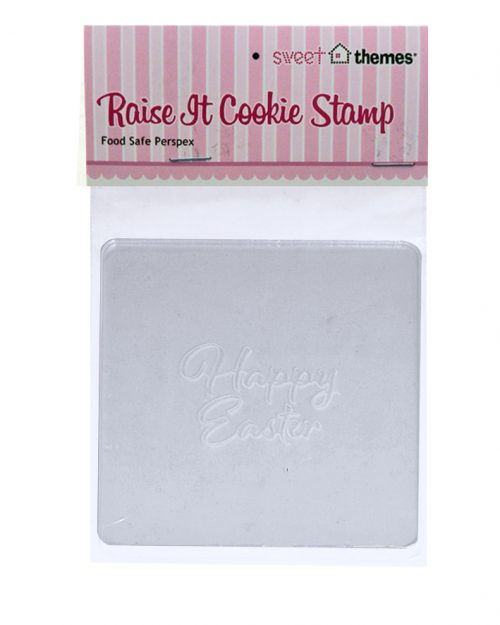 Happy Easter Script Raise It Up Stamp